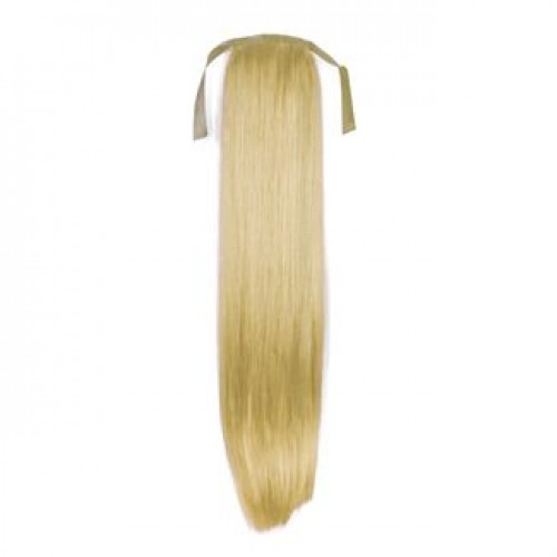 Hestehale Extensions - Straight blond 613#