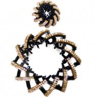 Hestehale Spiral i Guld