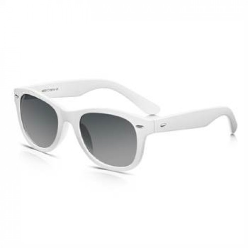Hvide Wayfarer Solbriller