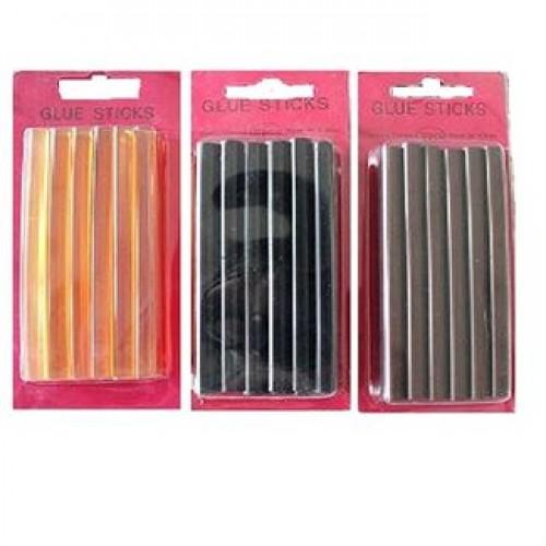 Keratin Glue Sticks 10 stk fl. farver