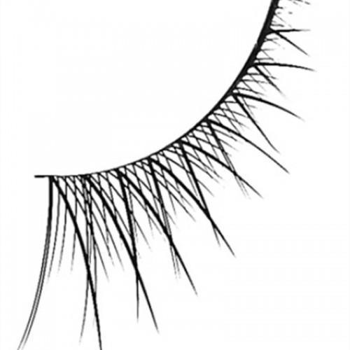 Kunstige Øjenvipper Half Eyelash Filler no. 801