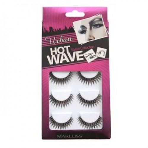 Kunstige Vipper - Hot Wave collection 5pack no. 3209 - 5 par