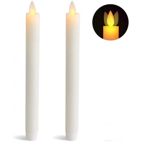 LED Stearinlys - Hvid