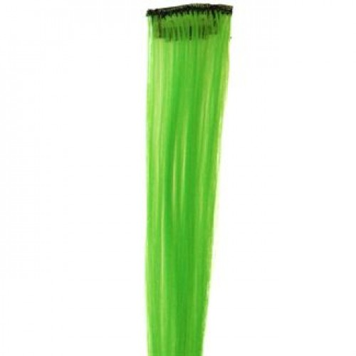 Lime green 50 cm - Crazy Color Clips