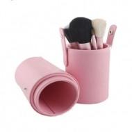 Makeup Børster - 12 dele i pink