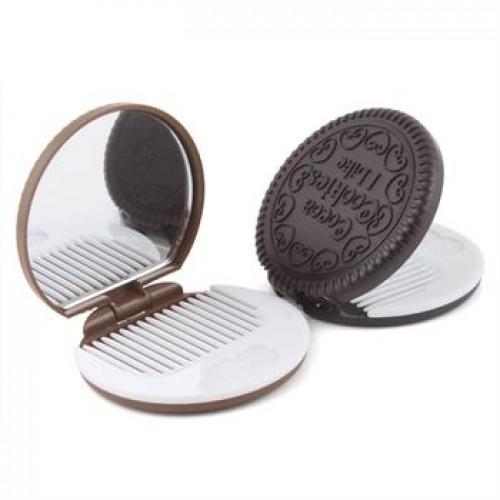 Makeup Spejl i Cookie design