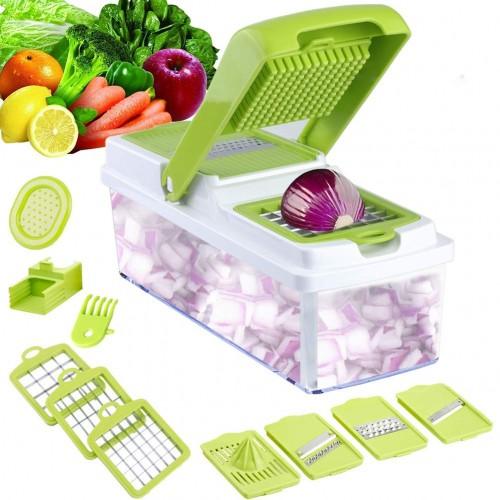 Mandolinjern - multi-funktionelt til frugt, ost og grøntsager