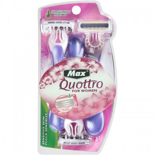 MAX® Quottro - Intimskrabere til kvinder, 3 stk