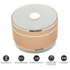Mini Højttaler H3 Magic Light High Performance Hi-Fi Speaker - Guld