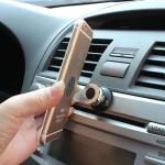 Mobilholder til bil - 360° og magnet - universal (passer til alle smartphones)