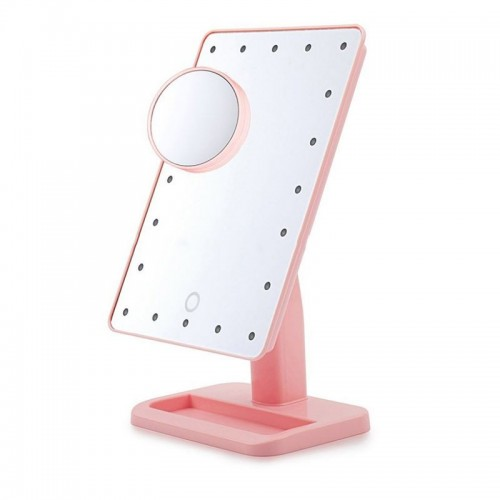 Monoko® Hollywood Makeup Spejl med lys, Pink - LED Mirror x10