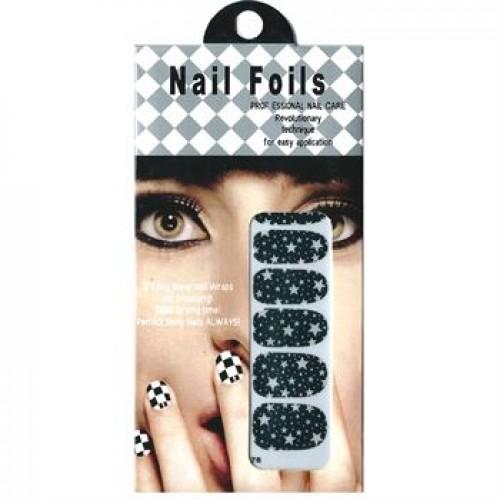 Nail Stickers - Nail Wrap 12 stk no. 03