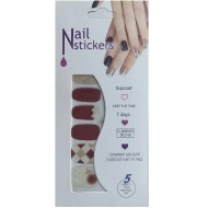 Nail Stickers - Negle wraps  12 stk no. 05