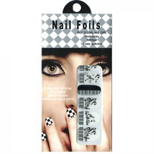Nail Stickers - Negle wraps  12 stk no. 06