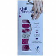 Nail Stickers - Negle wraps  12 stk no. 06