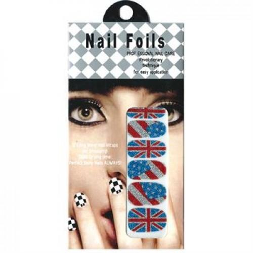 Nail Stickers - Negle wraps  12 stk no. 07