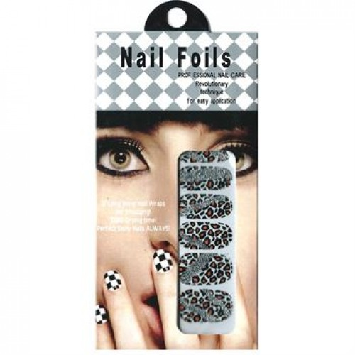 Nail Stickers - Negle wraps  12 stk no. 08