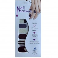 Nail Stickers - Negle wraps  12 stk no. 09