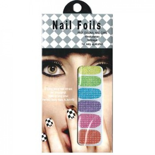 Nail Stickers - Negle wraps  12 stk no. 11