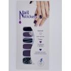 Nail Stickers - Negle wraps  12 stk no. 14
