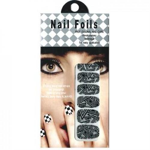 Nail Stickers - Negle wraps  12 stk no. 15