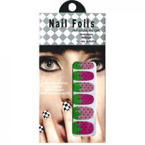 Nail Stickers - Negle wraps  12 stk no. 16