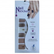 Nail Stickers - Negle wraps  12 stk no. 16