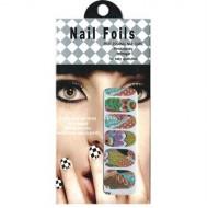 Nail Stickers - Negle wraps  12 stk no. 18