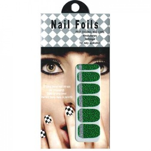 Nail Stickers - Negle wraps  12 stk no. 19