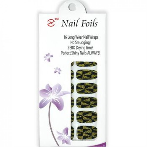 Nail Stickers - Negle wraps  16 stk no. 20