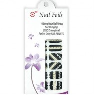 Nail Stickers - Negle wraps 16 stk no. 21