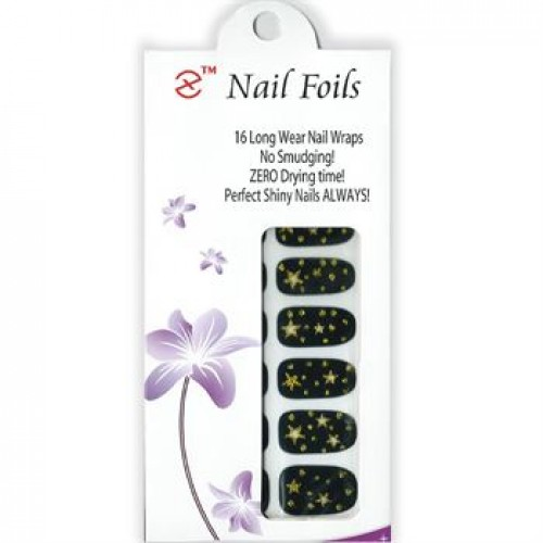 Nail Stickers - Negle wraps 16 stk no. 22