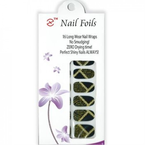 Nail Stickers - Negle wraps 16 stk no. 23