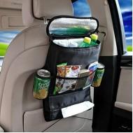 Organizer Taske til bil (med indbygget køletaske)