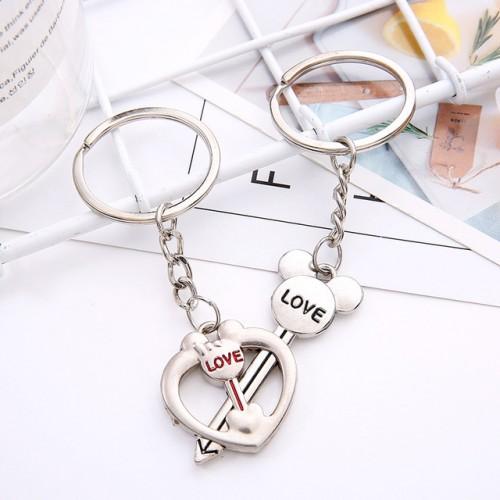 Par Nøgleringe Love Disney - KC-02