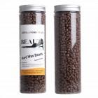 Pearl Wax Voksperler 400 gram Megapack - Chokolade