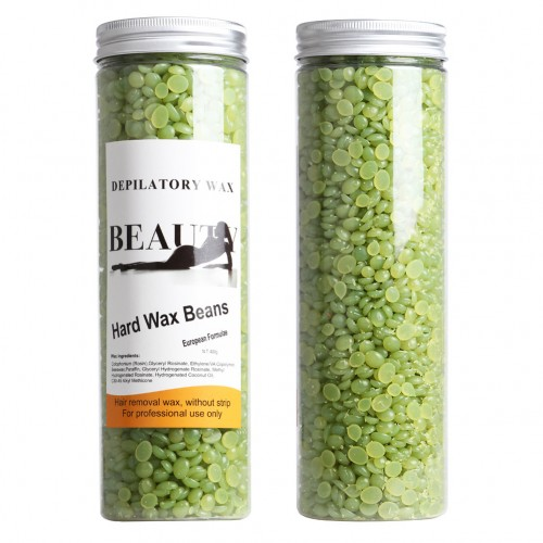 Pearl Wax Voksperler 400 gram Megapack - Tea tree