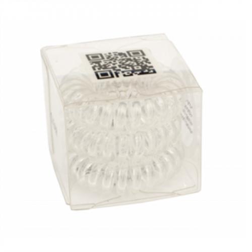 Premium Spiral elastikker Clear - 3 stk