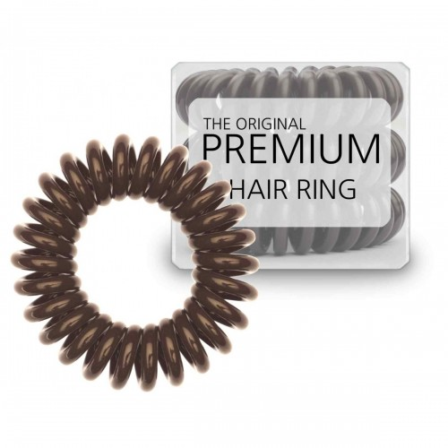 Premium® Spiral elastikker - Brun