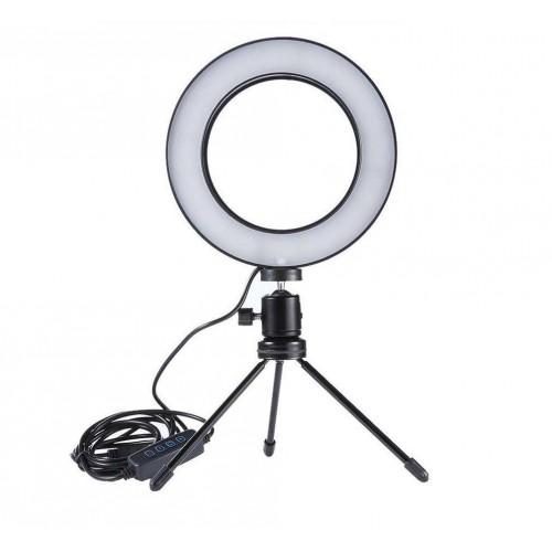 Pro Ring Light Studio Bord Model - Ring Lys til perfekte billeder & videoer