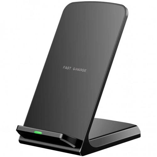 QI Trådløs Mobil oplader med dock til iPhone, Android