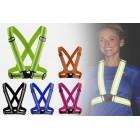 Refleksvest / Reflekssele til løb, cykling, gang (flere farver)