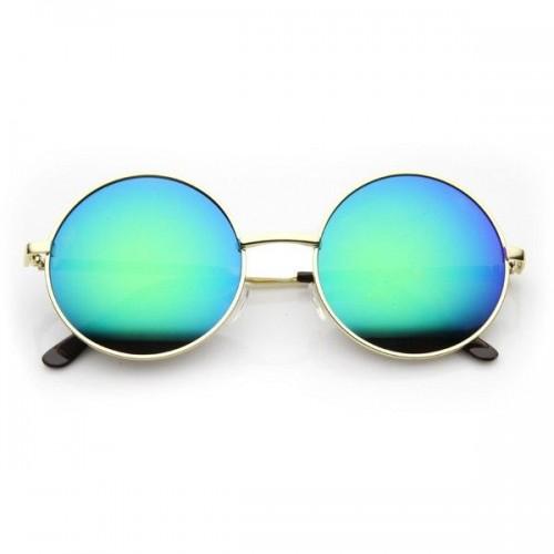 Retro Solbriller- Runde  - Sommerens Hit