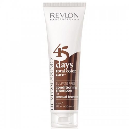 Revlon 45 days Sensual brunettes 2in1 Shampoo