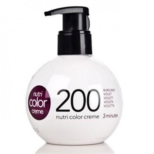 Revlon Nutri Color Creme Farvebombe No 200 Burgundy 250 ml.
