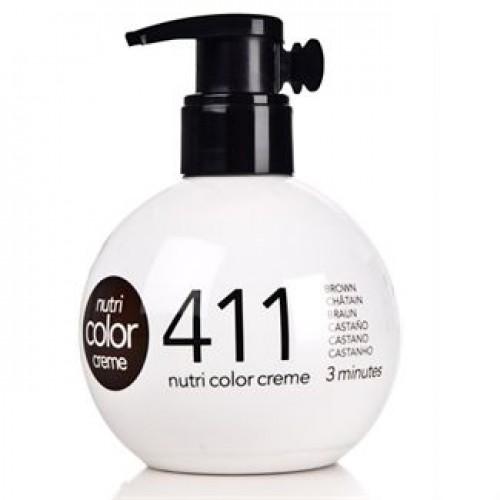 Revlon Farvebombe Nutri Color Creme No 411 Brown 250 ml.