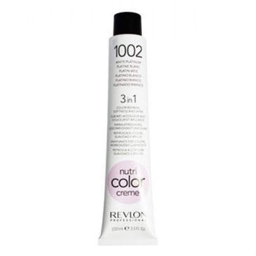 Revlon Nutri Color Creme tube 100 ml. No 1002 White Platinium