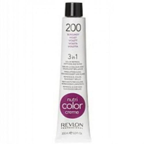 Revlon Nutri Color Creme tube 100 ml. No 200 Burgundy