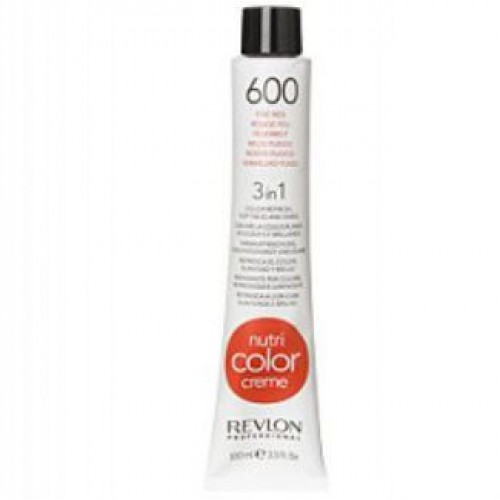 Revlon Nutri Color Creme tube 100 ml. No 600 Fire Red