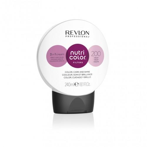 Revlon Nutri Color Fashion Filters 200 - Violet 240ml